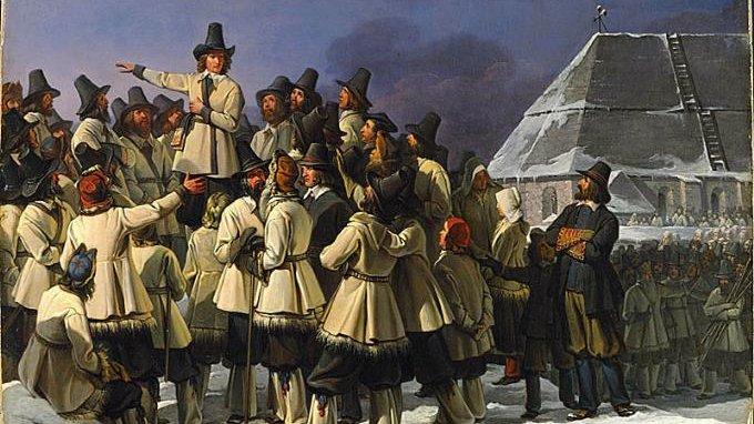 Gustav Vasa sökte stöd hos bönderna i Dalarna när han ville ta makten från den danska kungen.