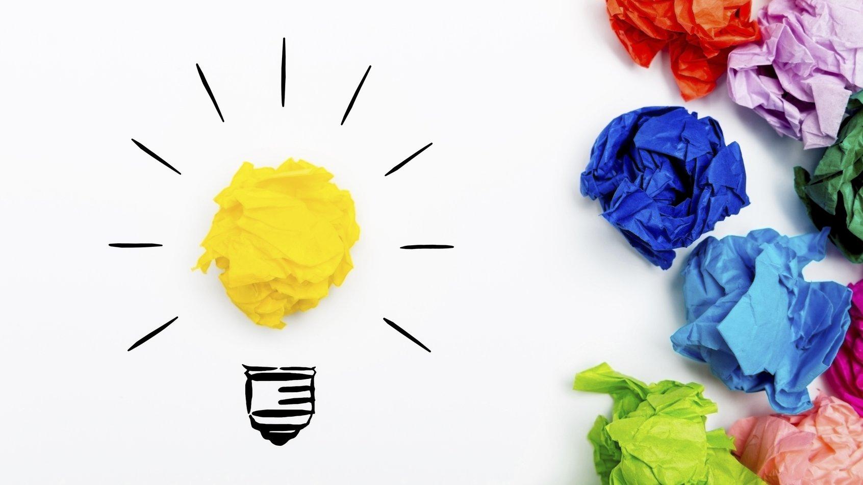 Allting börjar med en idé.