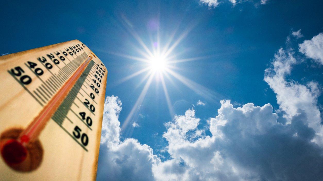 Klimatförändringarna får jordens temperatur att öka.