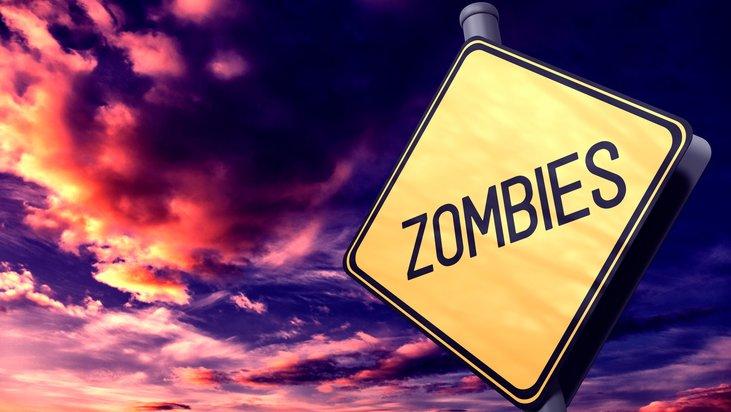 The zombie apocalypse is here!