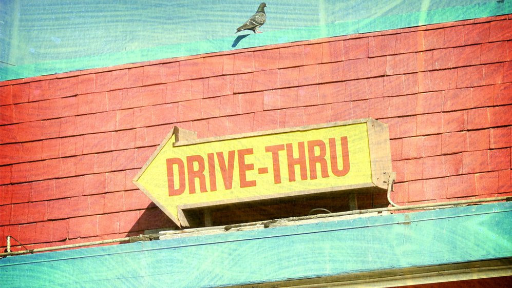 At the Drive-Through