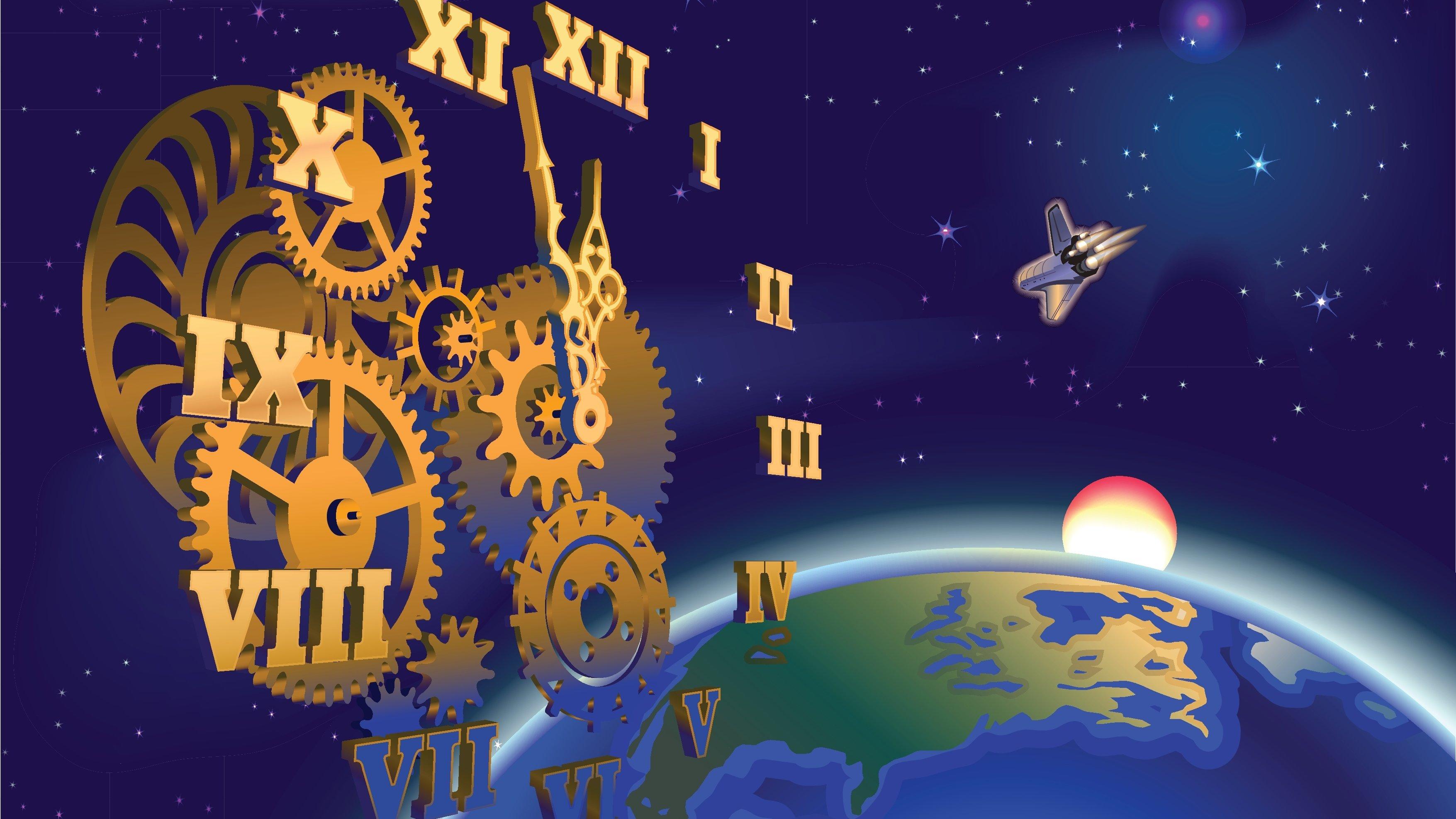 Vad tror du att tid och universum har för koppling?