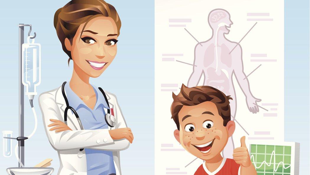 Gör studiebesök på ett sjukhus och ta reda på hur du fungerar.