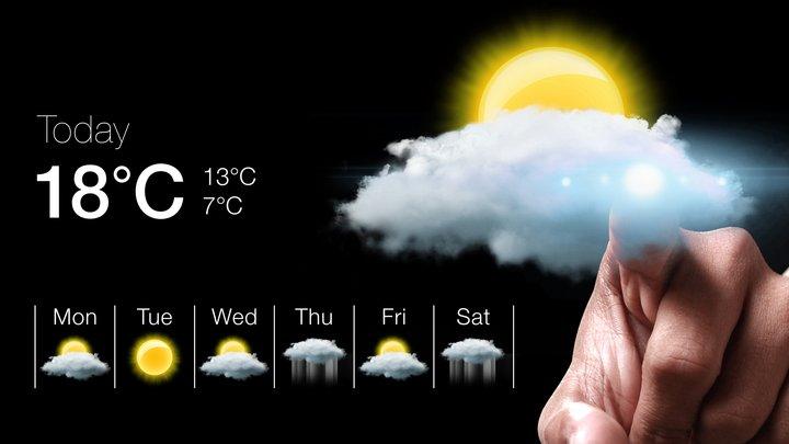 Med kunskaper inom meteorologi kan vi göra väderprognoser.