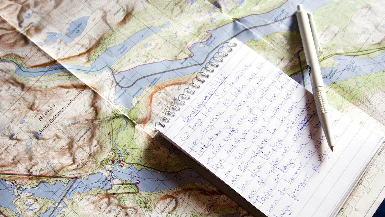 Vad som helst i hela världen kan rymmas i din dagbok eller blogg.