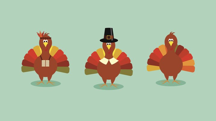 Thanksgiving and American history.