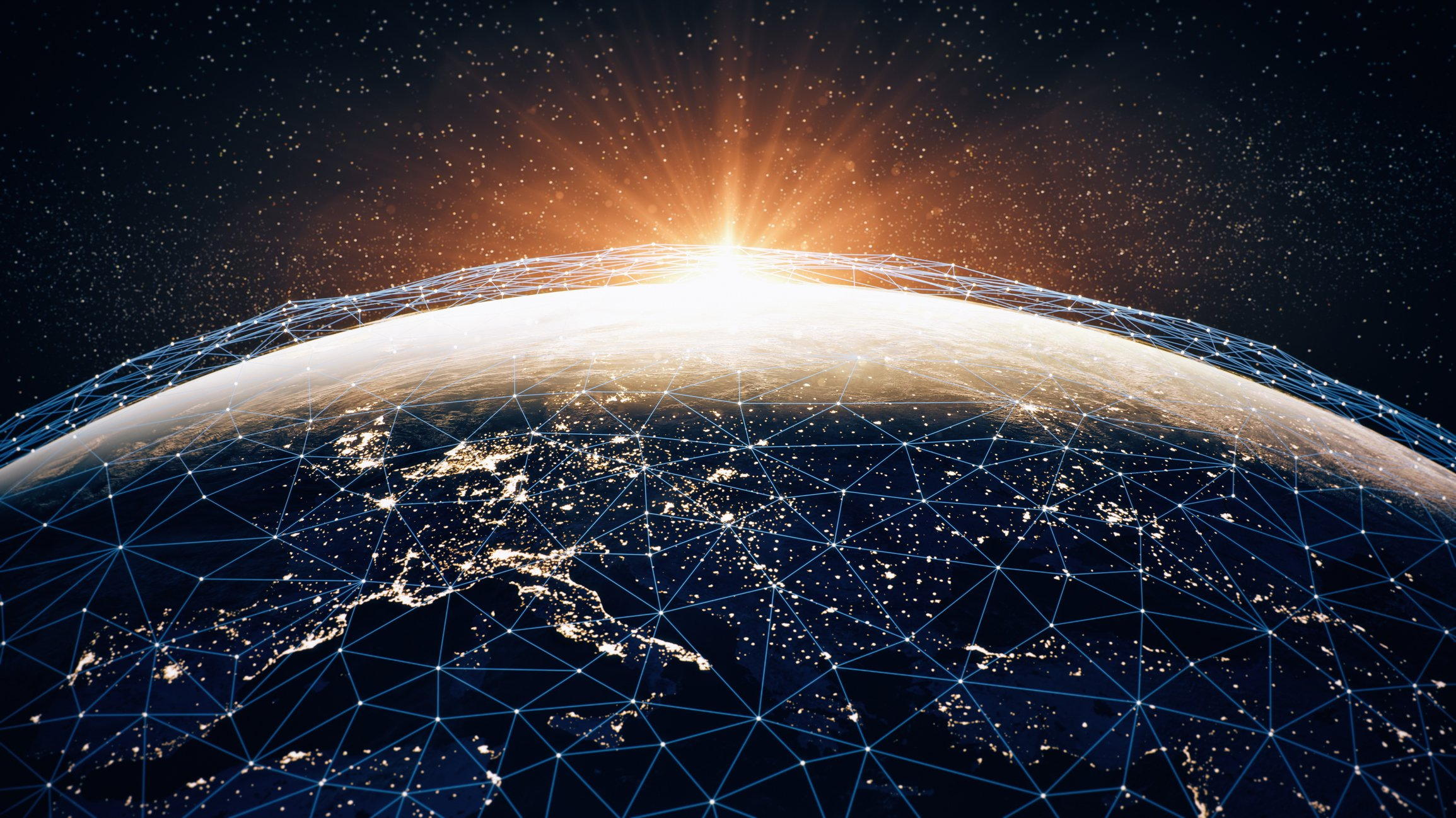 Global kommunikation och säkerhet.