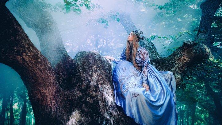 Prinsessor förekommer ofta i sagor.