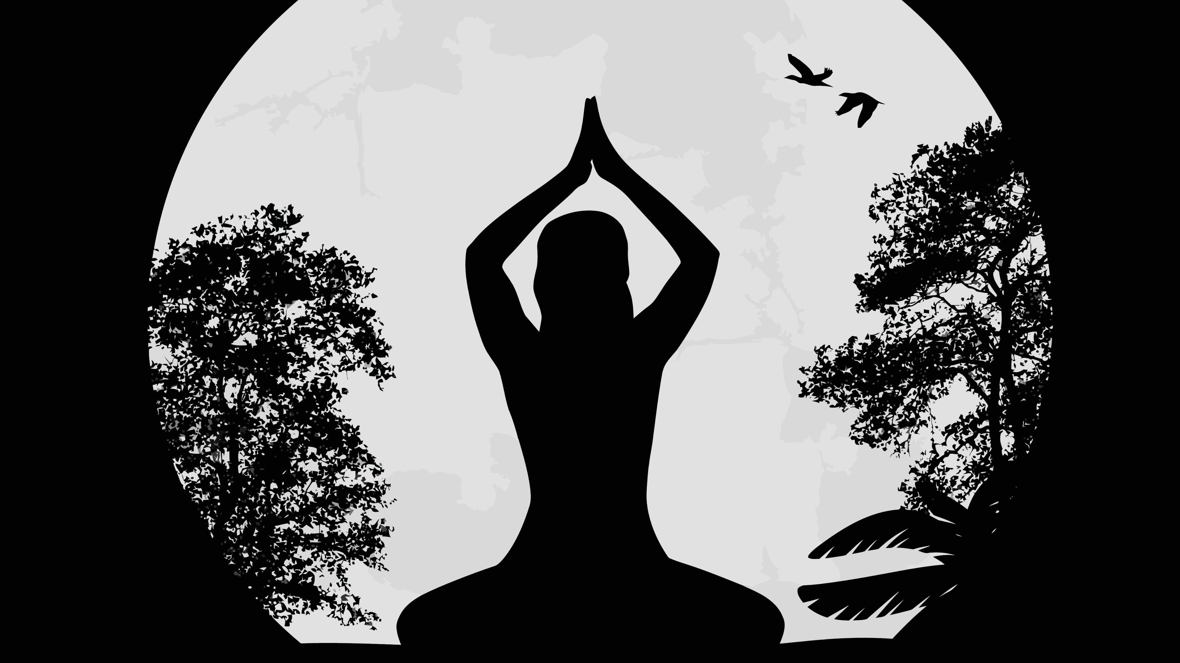 Inom hinduismen och buddhismen är det vanligt med yoga och meditation.