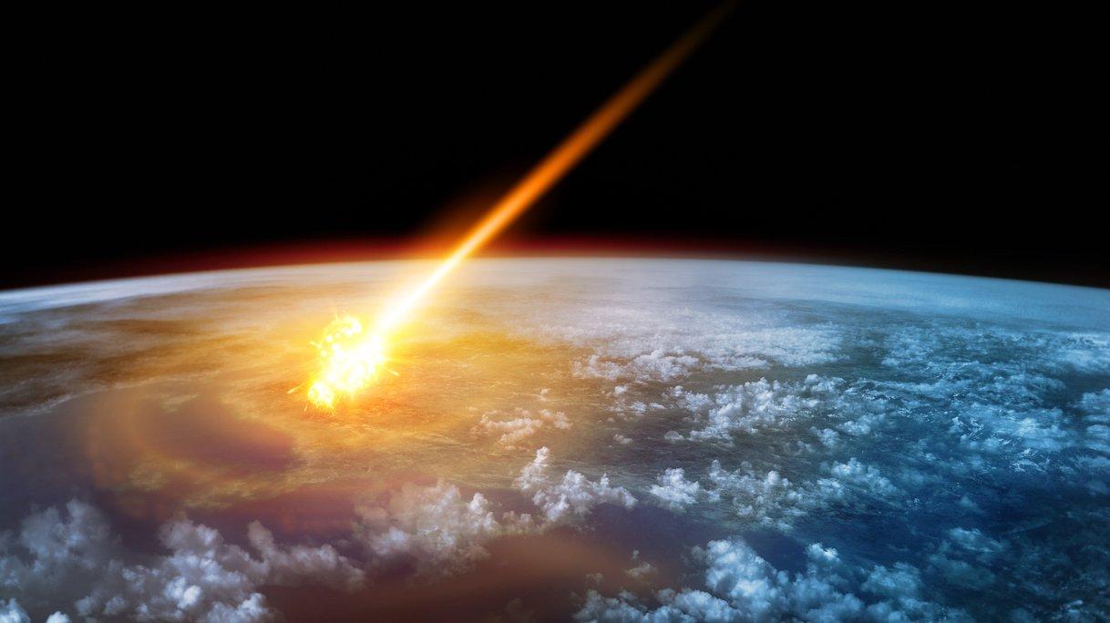 Jorden träffas av en komet!