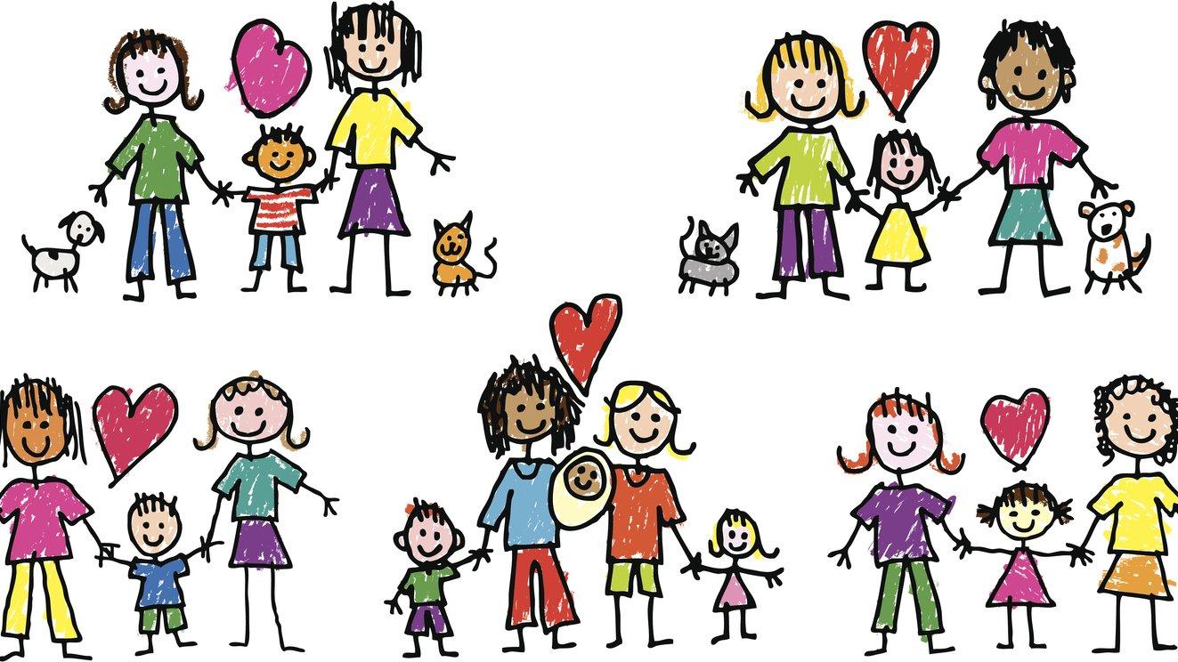 En familj kan se olika ut.