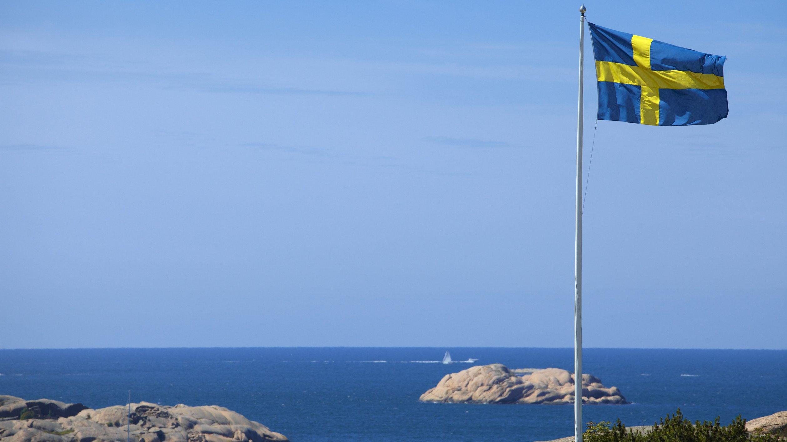 Sverige, vårt vackra land.