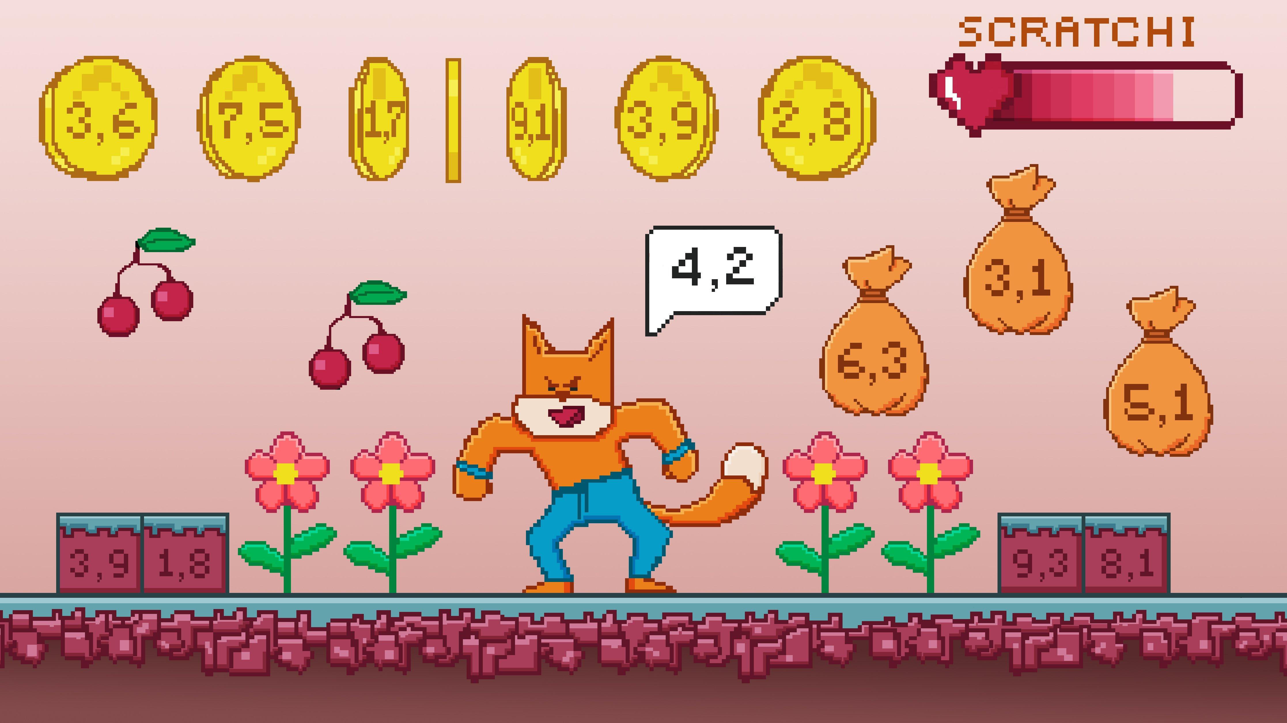 Mattespelet – Programmering och decimaltal