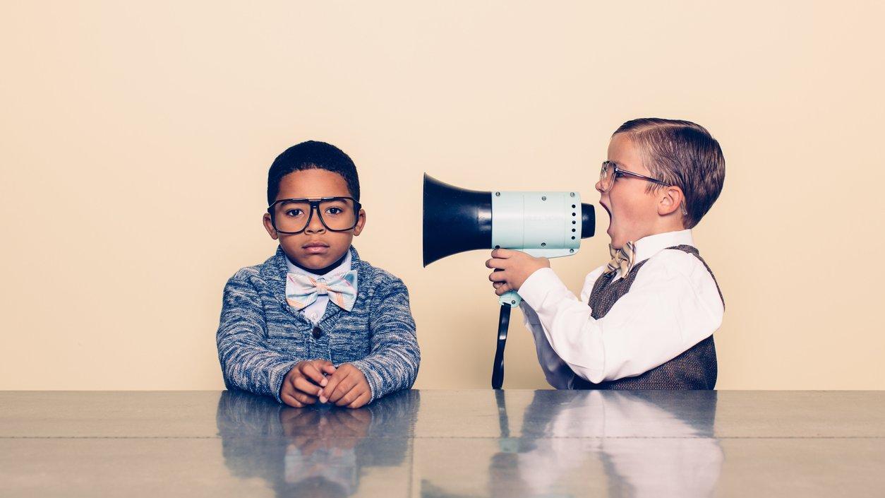 Det fungerar inte att bara skrika vad du tycker för att få igenom din vilja. Du behöver bra argument.