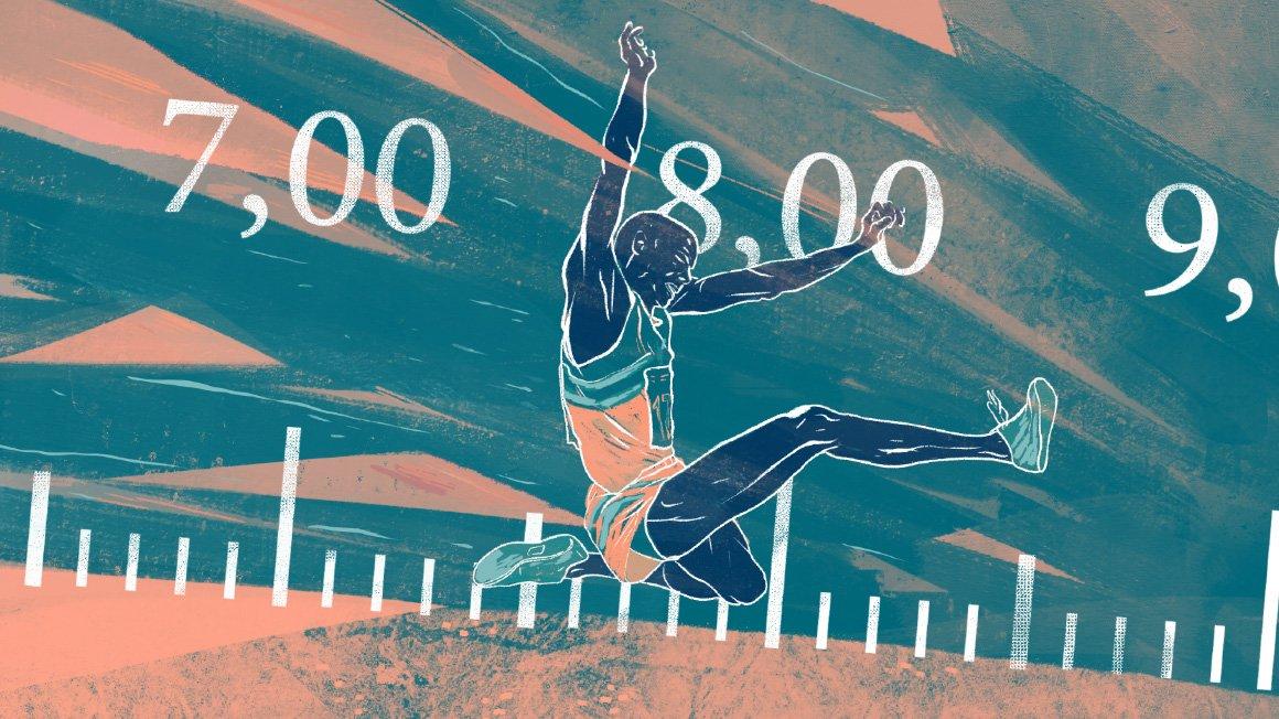 Rekordjakten – addera decimaltal