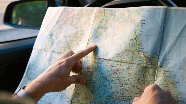 Det finns många olika typer av kartor.