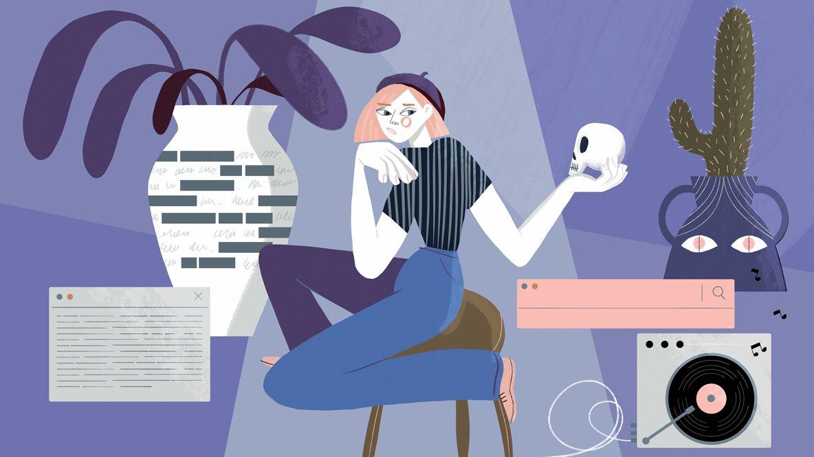 Programmering, sannolikhet och poesi.