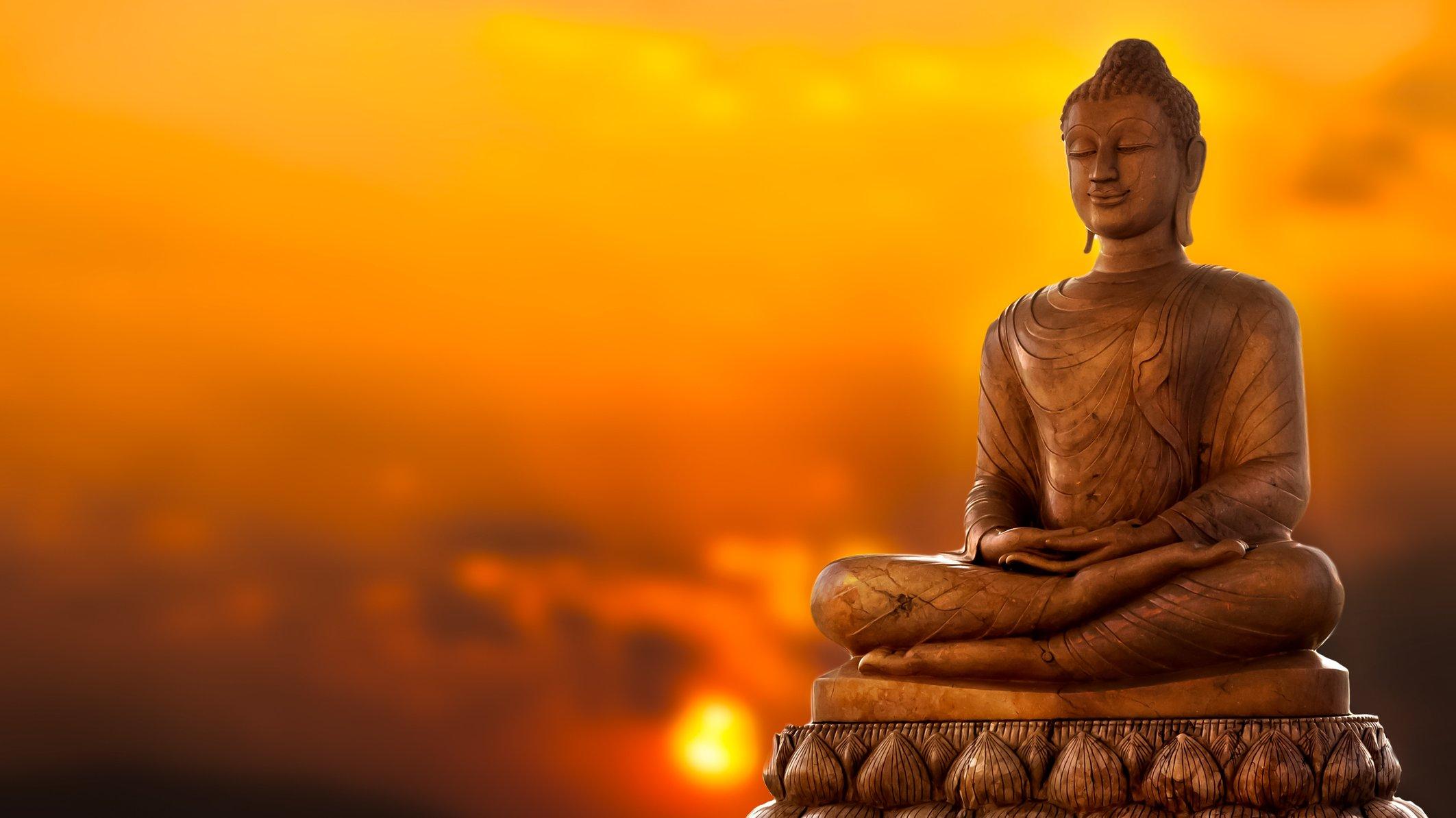 Buddha – grundaren av buddhismen.
