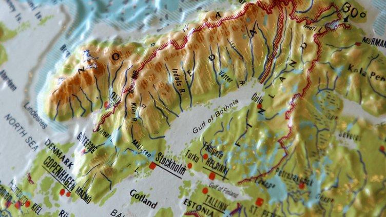 Vad Kartan Berattar Topografiska Kartor